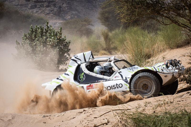 Opisto vous embarque sur le Dakar Classic 2021 !